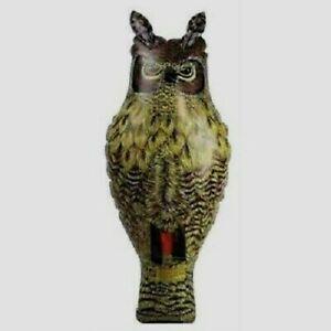 Dalen Inflatable Great Horned Owl Bird Deterrent Decoy Scarecrow Boat Garden NEW