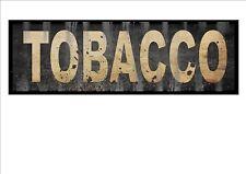 VINTAGE Negozio Segno TABACCO Shop Firmare riproduzione vintage SIGN INSEGNA OLD STYLE