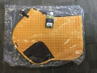 Le Mieux Mustard Close Contact CC Saddlepad Brand New Size Small/medium