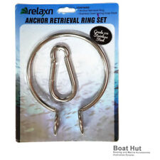 Anchor Retrieval Ring Set 316 Stainless Steel With Spring Snap Hook 37094