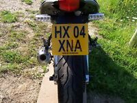 R&G Tail Tidy / Licence Number Plate Holder Aprilia RS125 (2006) LP0032BK