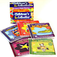 Children's Nursery Collection 5CDs of kids songs stories & rhymes NEW & WRAPPED