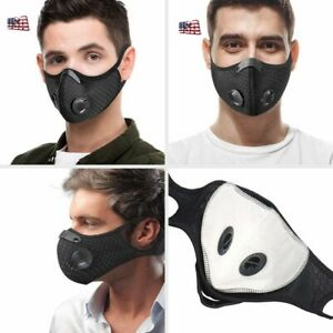 Anti dust Cycling Face Shield with Activated Carbon Filter Mouth Cover Scarf