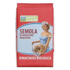 Semoule Rimacinata de Blé Dur Biologique 1 kg - Selezione Casillo