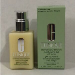 NEW CLINIQUE Dramatically Different Moisturizing Gel  With Pump 4.2 oz /  125 ml