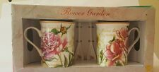 The Leonardo Collection Flower Garden 2 Mugs with Spoons