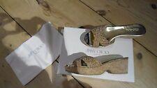 Original shoes Pantoletten Sandalen Jimmy Choo ausgefallen Gr 36 NEU LP 295 EURO