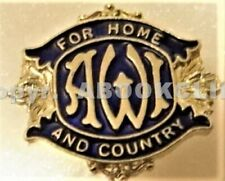 A.W.I. WOMEN'S INSTITUTE of ALBERTA FOR HOME AND COUNTRY Pin