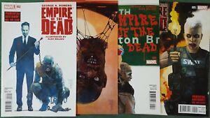 Empire of the Dead Act One #2-5 Maleev Romero Lot of 4 CB17