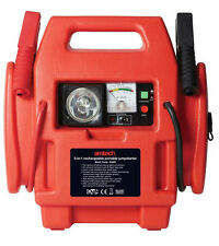 12V 600AMP 3-In-1 Rechargeable Battery Jump Starter Emergency Car Booster Leads