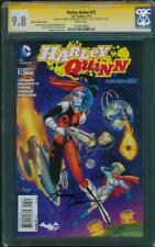 Harley Quinn 12 CGC 3XSS 9.8 Variant Conner Palmotti Hardin Suicide Squad sequel