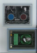 Harry Potter COSTUME CARD C8 DUAL Hermione EMMA WATSON Chamber of Secrets Prop