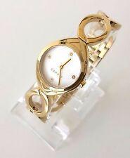 Esprit Damen Uhr Audrey gold weiß Edelstahl ES108072002