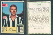 R@R@ FIGURINA CALCIATORI MIRA 1965/66*JUVENTUS,STACCHINI -NEW,EDICOLA,PERFECT