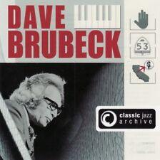 Dave Brubeck - Classic jazz archive - 2 CDs -