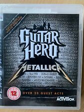 Guitar Hero Metallica PS3 Game for Sony PlayStation 3