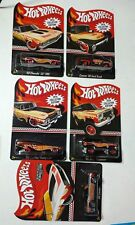 Hot Wheels 2014 Mail-In SET Chevelle/69 Camaro/88 Jeep/56 Ford Truck/59 Cadillac