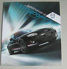 MAZDA MX-5 KURO 2012 gamma auto BROCHURE. EDIZIONE Speciale Roadster & SOFT TOP MX5