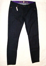 "BNWOT:GORGEOUS RICH&SKINNY DARK INDIGO DENIM JEANS 31 ""SUPER SKINNY"""