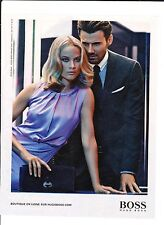 HUGOBOSS Publicité de Magazine . Magazine advertisement. 2012