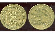 PEROU   25 centavos 1973