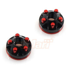 Active Hobby Real Scale 5 Hole Wheel Nut Red/Black 1:10 RC Car Drift #STR242R