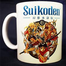 SUIKODEN - Coffee MUG CUP - Konami - RPG - Anime - Playstation