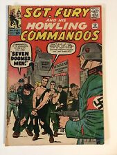 Sgt Fury And His Howling Commandos #2 1963 4.0 Lee Kirby