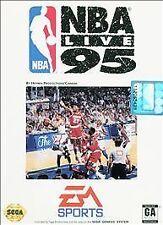 NBA Live 95 (Sega Genesis, 1994)