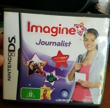 Imagine Journalist - NDS - Nintendo DS - FREE POST