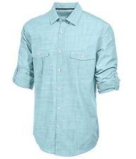 Alfani Long Sleeve Sea Coast Shirt Mens Size Large New