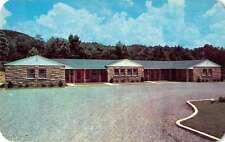 Wartburg Tennessee Schubert Motel Vintage Postcard J58746