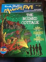 Enid Blyton Famous Five Mystery Jigsaw The Ruined Cottage Complete Free Post