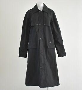 Driza Bone Long Black Waterproof Coat Size S