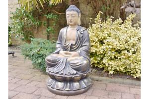 Large Sitting Buddha Statue Buddhism Buddha Resin Statue 5282s