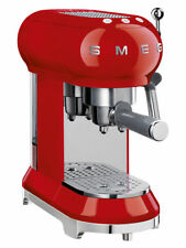 Smeg ECF01 Espresso Machine - Red