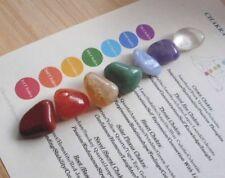 Chakra Healing Crystals 7 Stone Chakra Set 15mm-18mm Chakras, Chakra Balancing