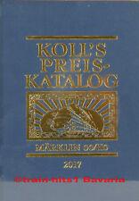 Koll's Preis-Katalog 2017 Märklin 00/H0 Gesamtausgabe Leinen - gesamt, in Folie
