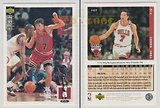 NBA UPPER DECK 1994 COLLECTOR'S CHOICE - Toni Kukoc #107 - Ita/Eng- MINT