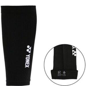 One Pair YONEX Elastic Compression Calf Socks, Sleeves 27901-007, Small, Taiwan
