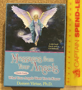 ORIGINAL 2004 MESSAGES FROM YOUR ANGELS ORACLE TAROT CARD DECK DOREEN VIRTUE EXC
