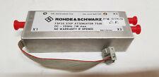 Rohde & Schwarz FSP30 Step Attenuator DC-30GHz 70dB 1W