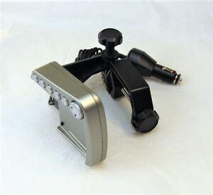 Garmin Transom Mount w/ 320-00266-00 Power Adapter & Interface