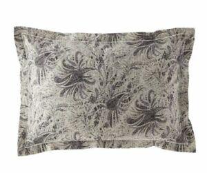 Ralph Lauren Dover Street Gwendolyn Grey print Standard pillow Sham retail $185