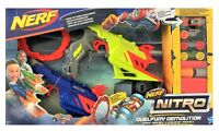 Hasbro C0817EU4 Nerf Nitro Fahrzeugblasterset DuelFury Demolition für Kinder Neu
