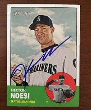 HECTOR NOESI 2012 TOPPS HERITAGE AUTOGRAPHED SIGNED AUTO BASEBALL CARD 315 MARIN