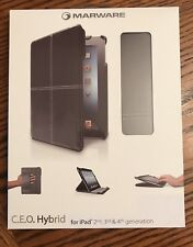 Marware C.E.O. Hybrid Brown Ipad Case 2nd 3rd And 4th Generation Brand New