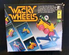 Vintage Tomy Wacky Wheels #5018 With Original Box. INCOMPLETE Set