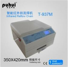 Puhui T937M Infrared Reflow Oven Solder Ic Heater 2300W T-937M Lead-Free New ik