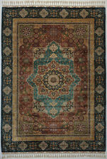 Mamluk 5 x 8 feet Red Traditional Rug 400 KPSI Fine Craftsmanship & Elegance
